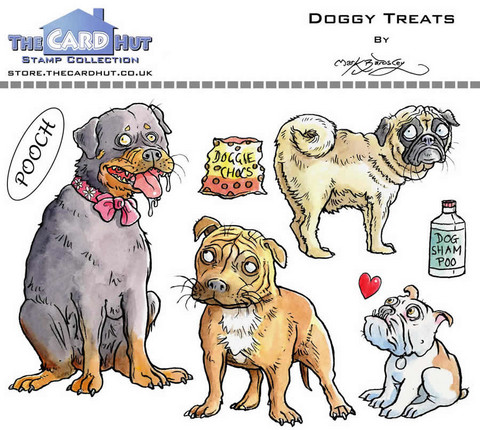 The Card Hut leimasinsetti Doggy Treats