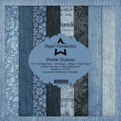 Dixi Craft Denim Textures -paperipakkaus