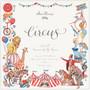 Craft Consortium Circus -paperipakkaus, 12