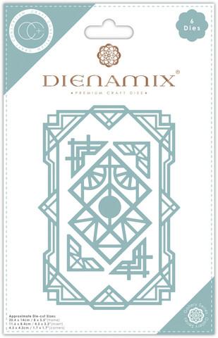 Craft Consortium Dienamix stanssisetti A5 Deco Frame