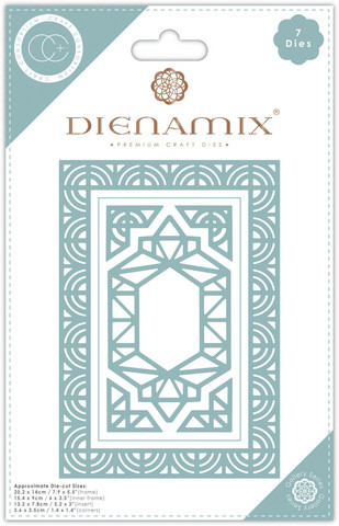Craft Consortium Dienamix stanssisetti A5 Iron Frame
