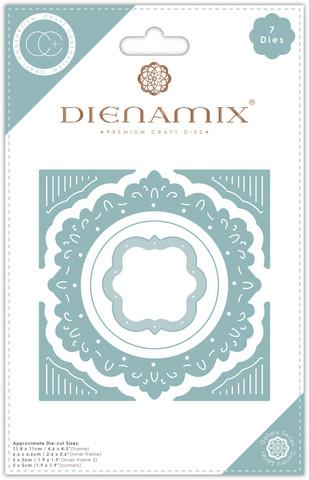 Craft Consortium Dienamix stanssisetti Ornate Circle