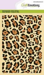 CraftEmotions leimasin Panther Print