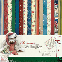 Docrafts paperipakkaus Christmas with Wellington, 12