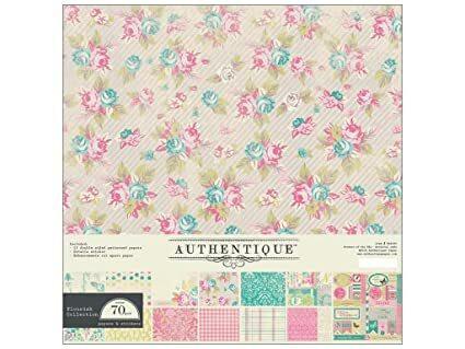 Authentique Collection Kit Flourish, 12