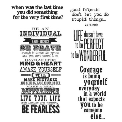 Stampers Anonymous, Tim Holtz leimasinsetti Way With Words