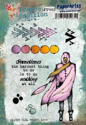 PaperArtsy France Papillon leimasinsetti 003