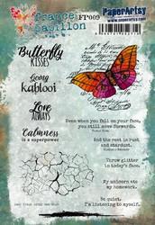 PaperArtsy France Papillon leimasinsetti 009