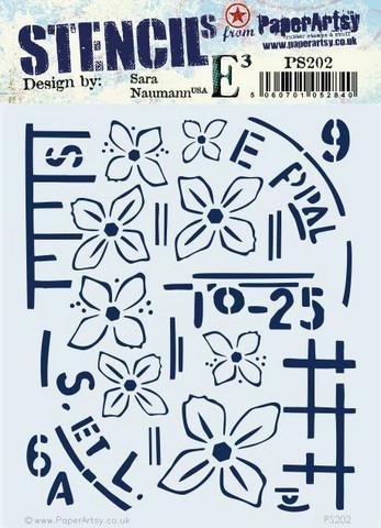 PaperArtsy Sara Naumann sapluuna 202