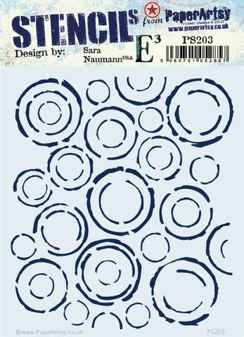 PaperArtsy Sara Naumann sapluuna 203