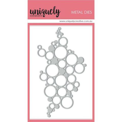 Uniquely Creative stanssi Bubbles Texture