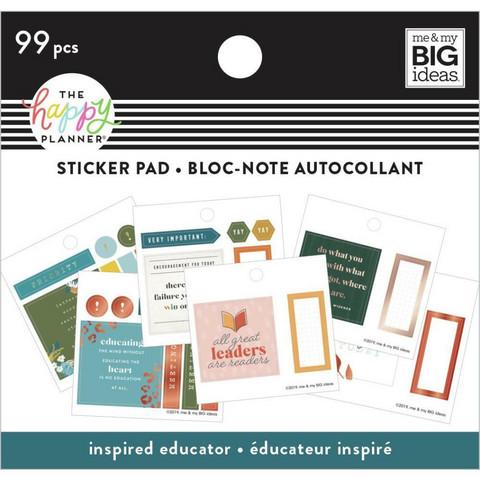 Mambi Happy Planner Tiny -tarrapakkaus Inspired Educator