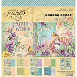 Graphic 45 -paperipakkaus Fairie Wings, 12