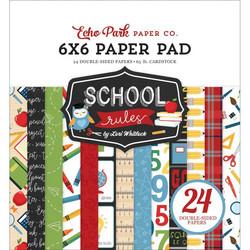 Echo Park School Rules -paperipakkaus