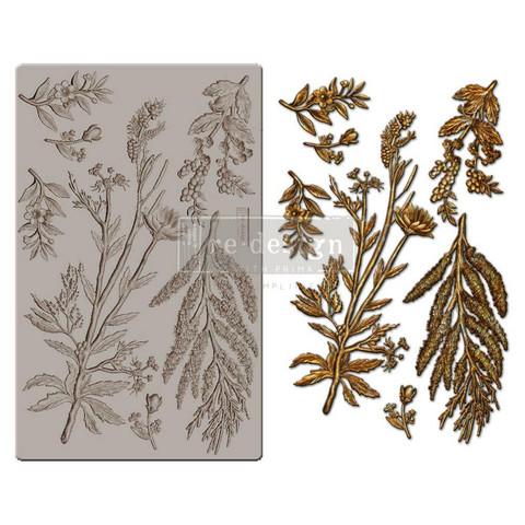 Prima Re-Design Decor Mould -muotti Herbology