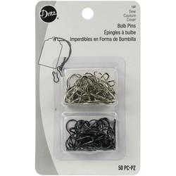 Dritz Bulb Safety Pins -hakaneulat, 50 kpl