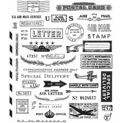 Stampers Anonymous, Tim Holtz leimasinsetti Correspondence