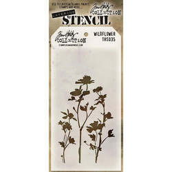 Tim Holtz Wildflower -sapluuna