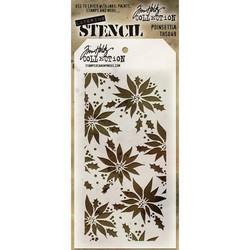 Tim Holtz Poinsettia -sapluuna