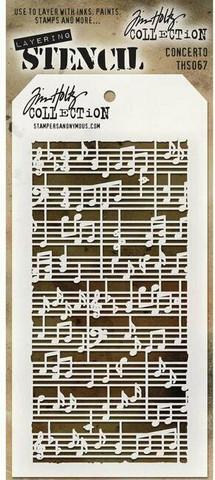 Tim Holtz Concerto -sapluuna
