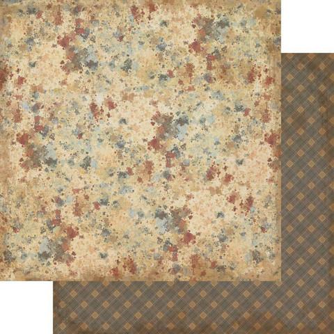 Authentique Manly skräppipaperi Paint Splatter