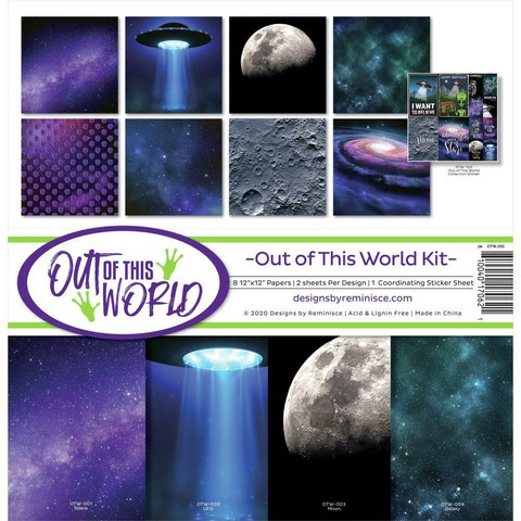 Reminisce Out Of This World -paperipakkaus 12