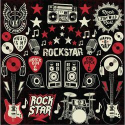 Reminisce tarra-arkki Rockstar
