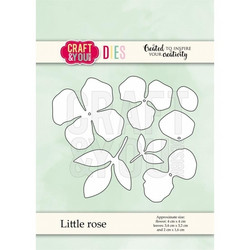 Craft & You stanssisetti Little Rose