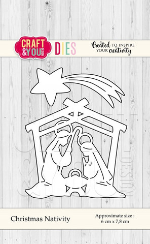 Craft & You stanssisetti Christmas Nativity