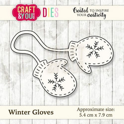Craft & You stanssi Winter Gloves