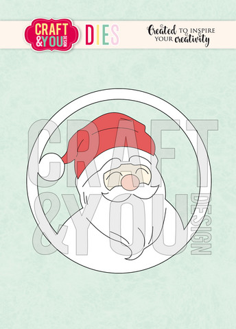 Craft & You stanssisetti Santa Claus