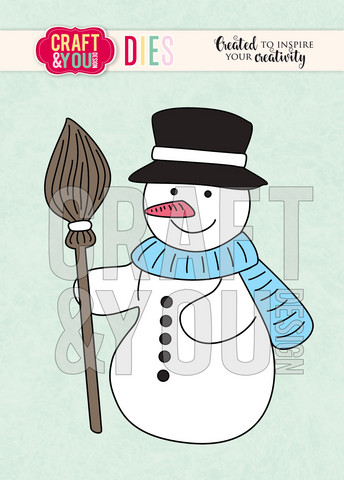 Craft & You stanssisetti Snowman
