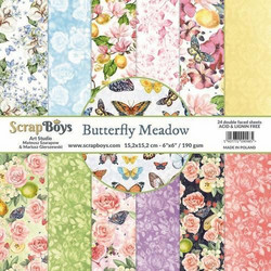 ScrapBoys paperikko Butterfly Meadow