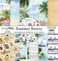 ScrapBoys paperipakkaus Summer Breeze, 12