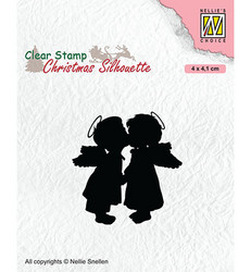 Nellie's Choice leimasin Two Kissing Angels