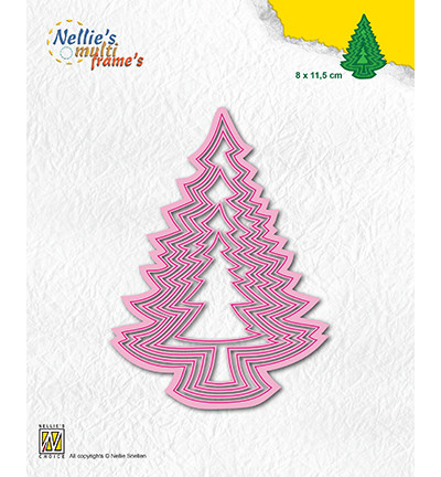 Nellie's Choice stanssisetti Christmas Trees