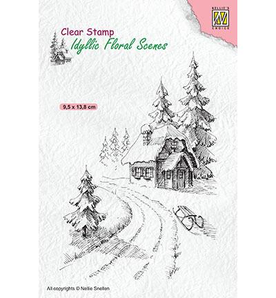 Nellie's Choice leimasin Wintery House