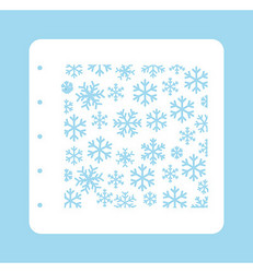 Nellie's Choice sapluuna Snowflakes