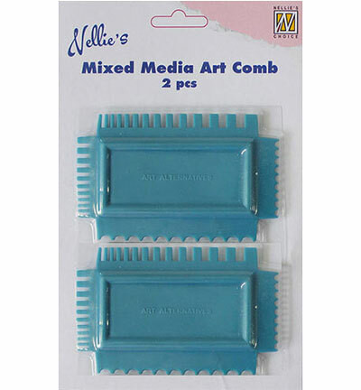 Nellie's Choise Mixed Media Art Combs -lastat