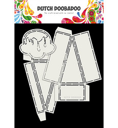 Dutch Doobadoo Card Art Ice Cream -sapluunasetti