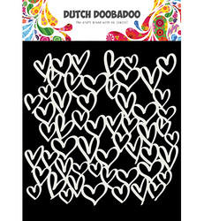Dutch Doobadoo Hearts -sapluuna