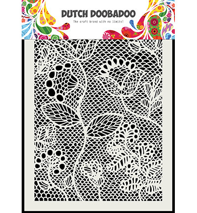 Dutch Doobadoo Zentangle -sapluuna