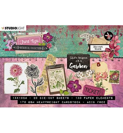 Studio Light korttikuvakirja Just Lou Botanical Collection