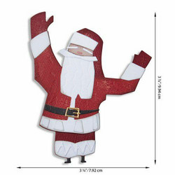 Sizzix Tim Holtz Thinlits stanssisetti Papercut Christmas #1, Colorize
