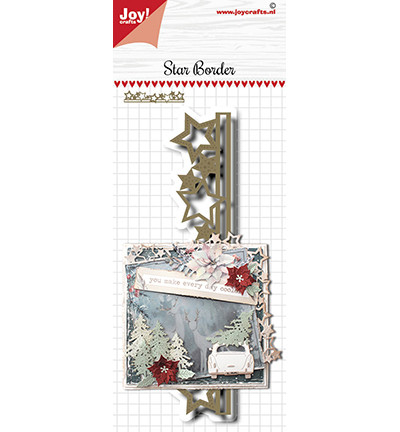 Joy! crafts Star Border -stanssi