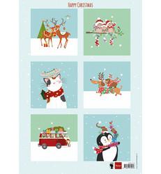 Marianne Design korttikuvat Happy Christmas