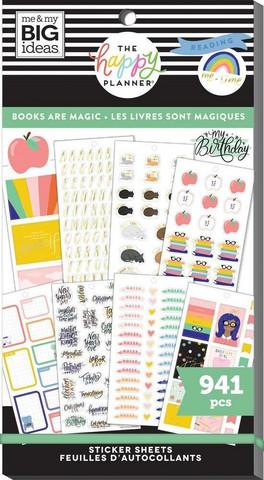 Mambi Happy Planner Value -tarrapakkaus Books Are Magic