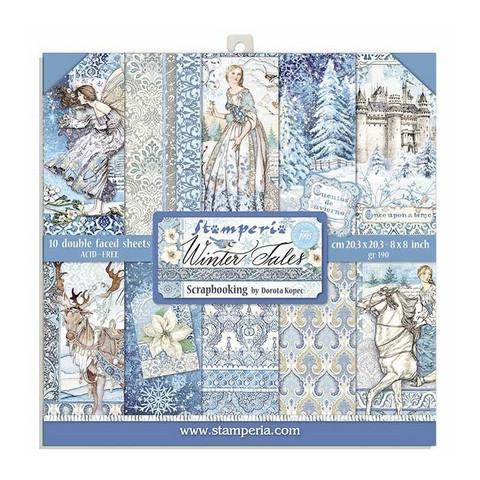 Stamperia paperipakkaus Winter Tales, 8