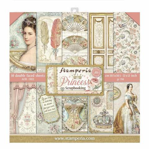 Stamperia paperipakkaus Princess, 12