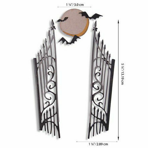 Sizzix Tim Holtz Thinlits stanssisetti Gate Keeper
